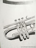 Trumpet value study by Just-A-DreamerXo