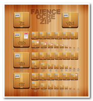 Faience zip icon by Fofan1982