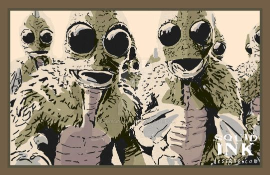 Sleestak by tobiasneal