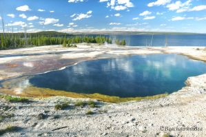 Hot Spring by Yellowstone Lake by BeachGirlNikita