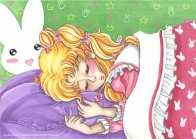 Usagi Sweet Dream - Fanart Sailor Moon by CrisAngy88