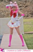 Sailor chibimoon by Linamoon by Yunnale