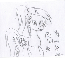 Gift for MiraiMystery : Kind Melody by Nattsu-San