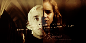Dramione / She says don't let go by N0xentra