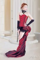 Lady in red by Zeth-09