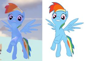 Gmod test - Rainbow Dash by Tukari-G3