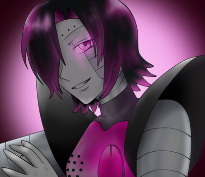 Mettaton EX - They need a monster with glamor by tantei-fox03