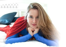 Supergirl - Laying on hands... by ladynoelle