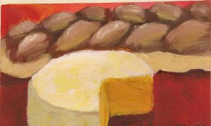Cheese and Bread by TheArtgrrl