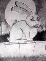 The witch's evil bunny by sexykitty2385