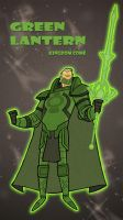 Kingdom Come - Green Lantern by tyrannus