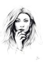Natalie Dormer by crayon2papier