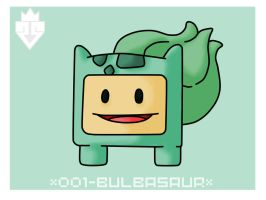 001 BULBASAUR by rubenborges