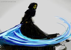 Barriss sketch by AlyaW