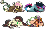 Pony Adopts (2/4 Open) by Gravitype