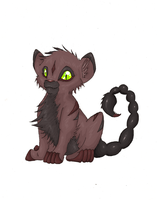 Baby Manticore by Datura00