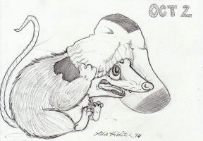 October 2: Sock 'Possum by LimpingGnome