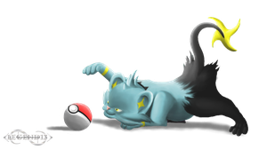 Playful Shinx by Legend13