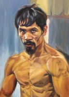 Manny Pacquiao by chickenlegboy