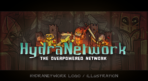 HydraNetwork Logo/Illustration by th3cleaner