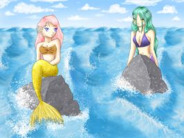 mermaids by Dofi