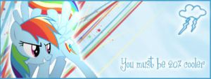 Firma de Rainbow Dash by Darkselia