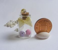 pygmy puff bottle necklace  from NeatEats by rhonda4066