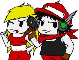 Cave Story fan drawing by mpn5379