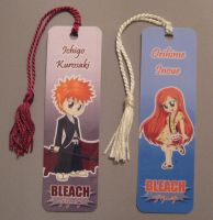 Bleach Bookmarks by dyzzispell