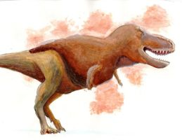 Tyrannosaurus, Today by TheTerritorialTrike