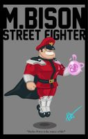 M.Bison by Littl-Big-Kahuna