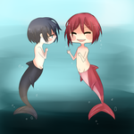 Free! Under the sea by BunnyBotto