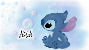 Curiousity About Bubbles, Stitch by CodeRin11