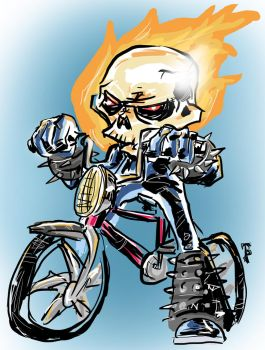Ghost Biker by jomerperez