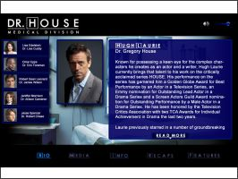 House minisite bio page by DaggersDrawn