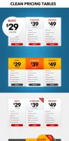 Pricing table (PSD) by Nas-wd