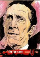 Peter Cushing Hammer Horror by RobertHack