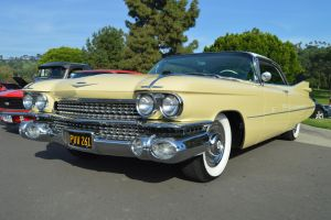 1959 Cadillac Coupe DeVille IV by Brooklyn47
