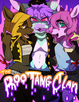 THE ROO-TANG CLAN by Dali-Puff