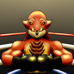 Kyrogk the Boxing Lion :RQ: by MostWanted06
