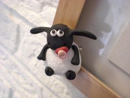 Baby Sheep - Shaun the Sheep by EldalinSkywalker