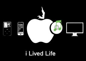 R.I.P Steve Jobs. I Lived Life by Designismypassion
