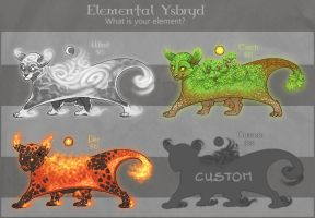 Elemental Ysbryd CLOSED by LhuneArt