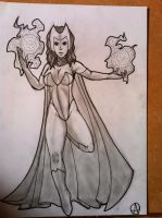 25-scarlet witch by arepa999