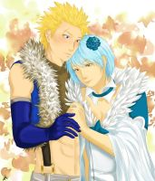 Sting and Yukino Commission by zhaleys