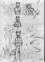 Battle page 3 -end- by Wandering-wolves