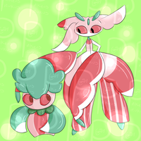 Fomantis and Lurantis