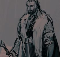 thorin oakenshield by MeryChess