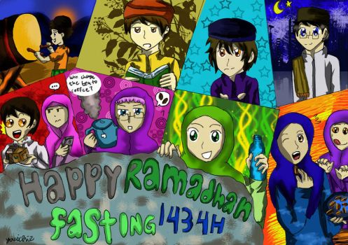 happy ramadhan 1434 by Youichiz2011