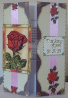 Nans Thinking Of You Card by blackrose1959
